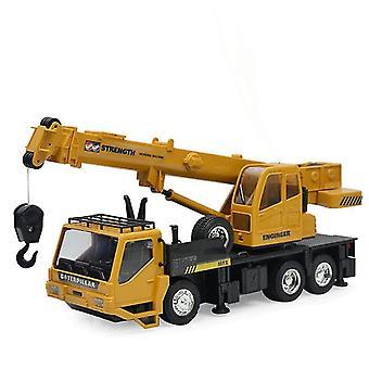 RCホイストクレーントラックモデルエンジニアリング誕生日のXmasコントロール貨物エレベーター|RCトラック(カーキ)