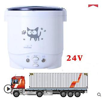 12V 24v 220v mini rice cooker car trucks electric soup porridge cooking machine food steamer warmer fast heating lunch box