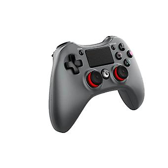Trådlös spelenhet med ergonomiskt utformade grepp Gäller PS4 PC