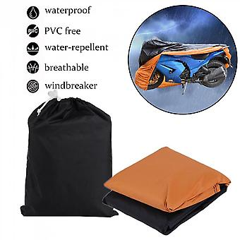 Xxxl Waterproof Motorcycle Cover Outdoor Uv Protecting Dust-proof For Harley