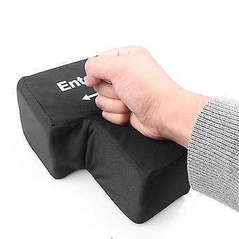 USB Enter Key Vent Pillow Soft Computer Button Return Key Offices Decompression Pillow Stress Relief Toy
