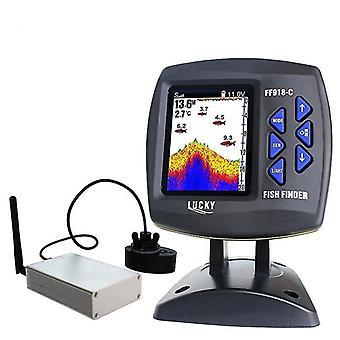 Unité principale Boat Fish Finder Sonar Sensor avec câble émetteur