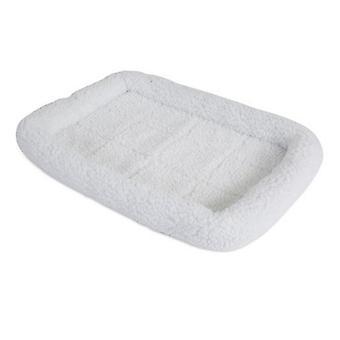 """الدقة الحيوانات الأليفة SnooZZy سرير الحيوانات الأليفة الأصلي سرير الوفير - أبيض - X-الصغيرة (17.5""""L X 11.5""""W)"""