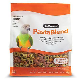 ZuPreem PastaBlend Pellet Linturuoka papukaijalle ja conurelle - 3 lbs
