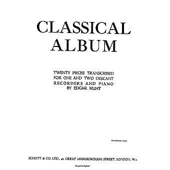 Classical Album 1 or 2 soprano recorder Separate Part