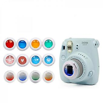 Color Close-up Lens Filter Set Compatible With Fujifilm Instax Mini7s/8/8+/9/kt