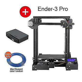 Ender-3 pro 3d printer kit creality 3d upgraded cmagnet build plate meanwell power resume power