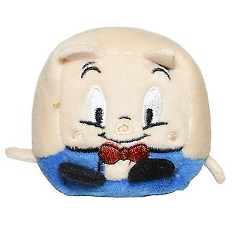 Kawaii Cubes Series 1 Small WB Character Plush - Porky Pig