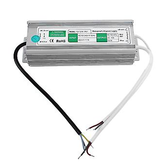 שנאי אספקת חשמל עמיד למים 10a 120w 12v לצג LED