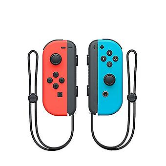 Portable Wireless Bluetooth Joy-con L/r Controller Compatible With Nintendo Switch-red Blue