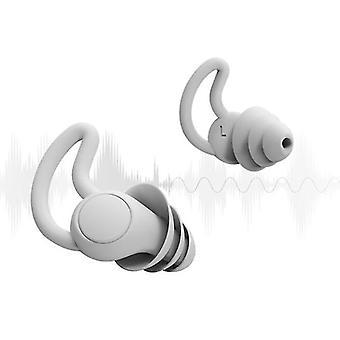 Schalldichte Ohrstöpsel Weiche Silikon-Geräuschmaskierung Schlafknospen zur Reduzierung von Schlafgeräuschen