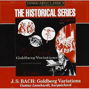 J.S. Bach - JS Bach: Goldberg muunnelmia [Vanguard] [CD] USA tuonti