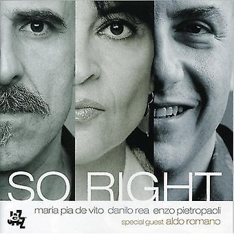 De Vito, Maria Pia - So Right [CD] USA import