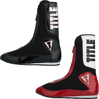 Titel boksen verheffen woedend lichtgewicht hoog boksen schoenen