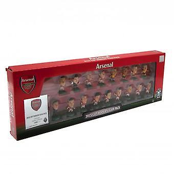 Arsenal SoccerStarz FA Cup zwycięzców zespołu Pack