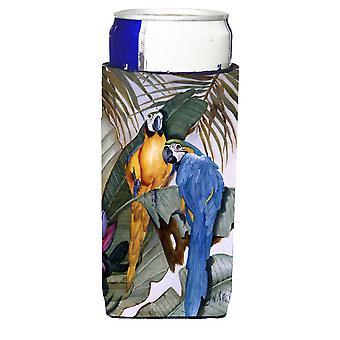 Carolines Schätze JMK1195MUK Papageien Ultra Getränke Isolatoren für schlanke Dosen