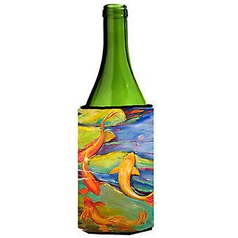 Carolines tesoros JMK1170LITERK Koi vino botella bebida aislador Hugger