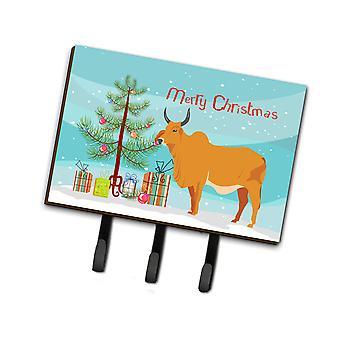 كارولين الكنوز BB9192TH68 ابقاره البقرة إينديسيني عيد الميلاد المقود أو حائز المفتاح
