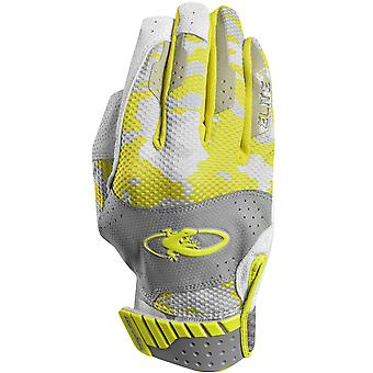 Lizard Skins Jugend Komodo Elite Batting Gloves - Neon/Phantom Camo