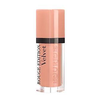 2 x Bourjois Paris Rouge Edition Velvet Lipstick 7.7ml - 26 Let It Beige