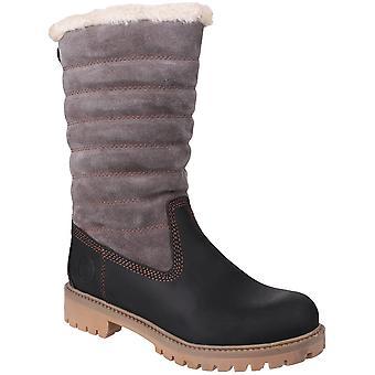Cotswold Womens/dames rimpel Waterproof leer Winter laarzen