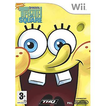 SpongeBob Truth or Square (Wii) - New