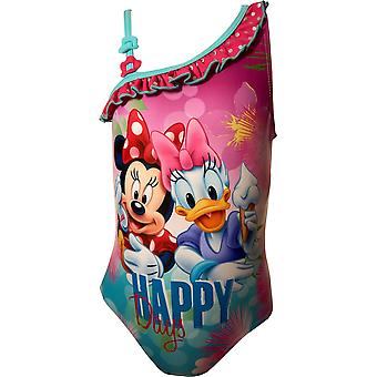 Girls ER1800 Disney Minnie Mouse One-Piece Swimsuits