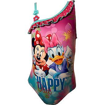 Jenter ER1800 Disney Minnie Mouse ett stykke Swimsuits