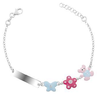 Orphelia Silver 925 Kids Bracelet With Elements Zirc  ZA-7148