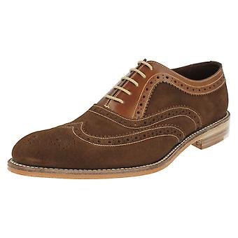 mens Loake Formal Brogues Floyd