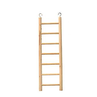 Beaks Wooden Budgie 7 Step Toy Ladder