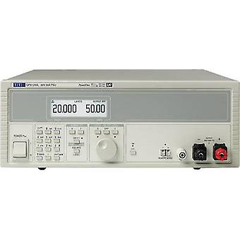 Aim TTi QPX1200SP Bench PSU (adjustable voltage) 0 - 60 V DC 0 - 50 A 1200 W GPIB, LAN, LXI, RS232, USB , Analogue No. of outputs 1 x