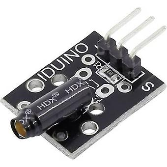 Iduino 1485326 Vibration sensor Suitable for (single board PCs) Arduino