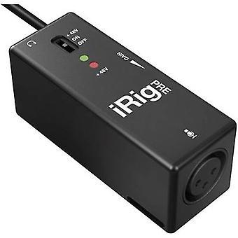 IK Multimedia iRig pre 1-kanals mikrofon forforstærker