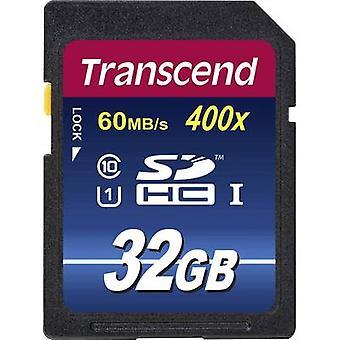 Transzendieren Premium 400 SDHC Karte 32 GB Class 10, UHS-ich