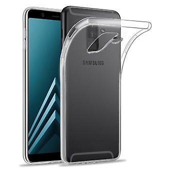32-прозрачный гель футляр для Samsung Galaxy A6 плюс (2018) - очистить