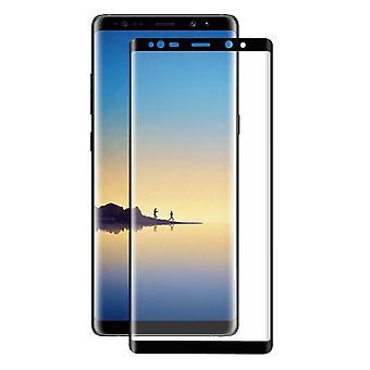 Protetor de tela de filme 3D vidro blindado Samsung Galaxy toque 8 cobre caso preto