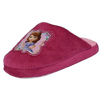 Girls Disney Princess Sofia The First Slippers WD8166