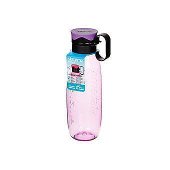 Sistema Tritan Traverse Bottle, 650ml Purple