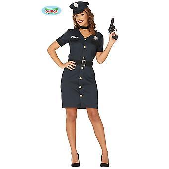 Agent de police police costume Mesdames COP police costume
