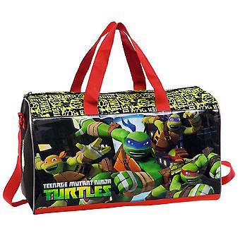 Tortugas adolescentes de Ninja del mutante y bolsa de viaje gimnasio