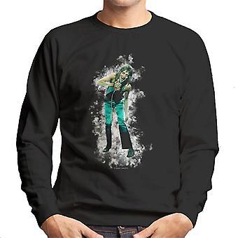 TV ganger Rod Stewart Live røyk effekt menns Sweatshirt