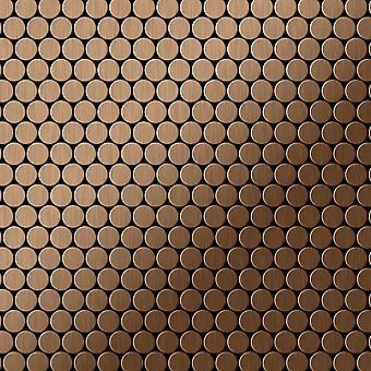 Metall mosaik TITANLEGERING Penny-Ti-AB