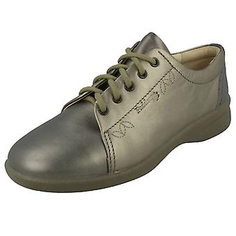 Ladies Padders Wide Fitting Casual Lace Up Shoes Refresh2