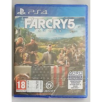Ubisoft far cry 5, 4 Sony PlayStation video game actie - PEGI 18