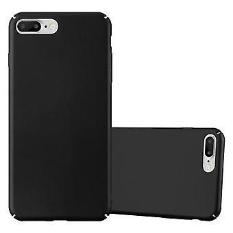 Cadorabo ケース アップル iPhone 8 プラス/iPhone 7 プラス/7 s の iPhone バンパー ケース バック カバーのプラス - マット金属デザイン ハード ケース電話カバー - カバー