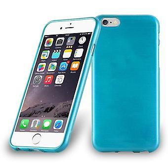 Cadorabo Veske til Apple iPhone 6 PLUS / iPhone 6S PLUS tilfelle tilfelle deksel - Telefon etui laget av fleksibel TPU silikon - silikon etui beskyttende etui Ultra slank myk bakdeksel veske støtfanger