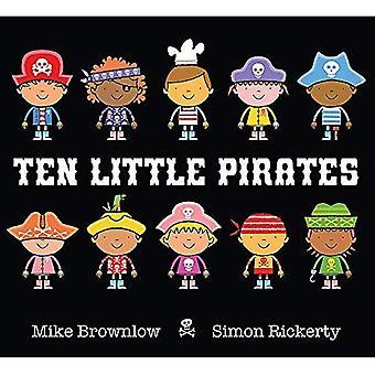 Tio små pirater
