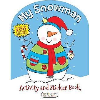 Mon activité de bonhomme de neige et le livre de collants