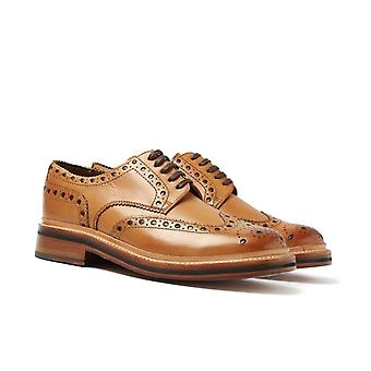 Grenson Archie Tan Brogues